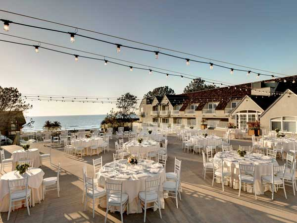 Outdoor event Meeting at L'Auberge Del Mar