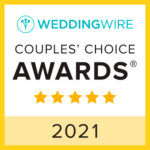 Wedding Wire Couples Choice Awards 2021.