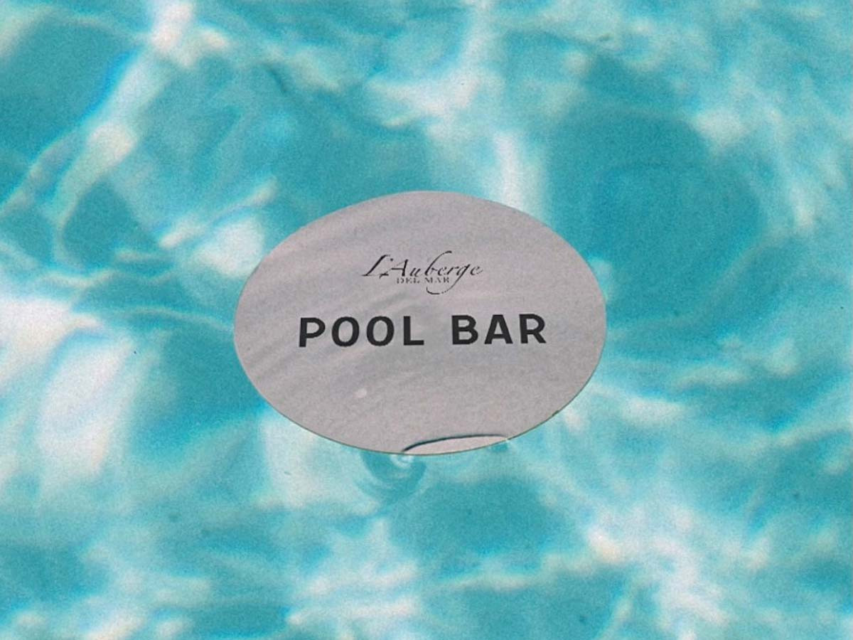 Lauberge Pool Bar Logo.